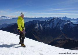 Niclevicz escalando a todo vapor nos Alpes