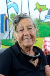 Elisa, aos 83 anos, tentou escalar o Aconcagua