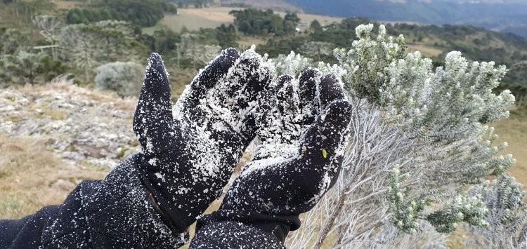 Sul do Brasil pode ter neve nos próximos dias - AltaMontanha