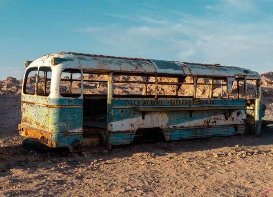 O Magic Bus versão Atacama