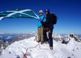 Pai e filho de 11 anos escalam o Matterhorn