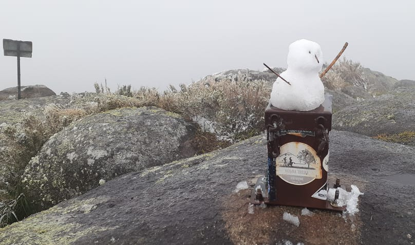 Boneco de Neve no Araçatuba