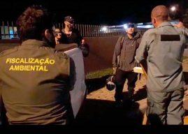 Visitantes são multados por acampamento ilegal no Paraná