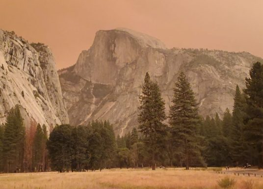 Yosemite é fechado devido a má qualidade do ar