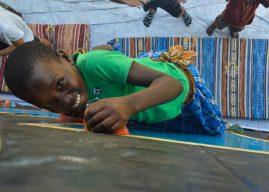 Projeto leva escalada a campos de refugiados