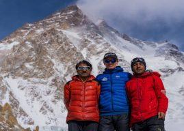 Sajid Sadpara participa de expedição ao K2 em busca de seu pai desaparecido