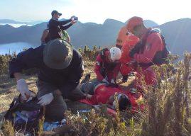 Desaparecido é resgatado após 6 dias no Pico Paraná